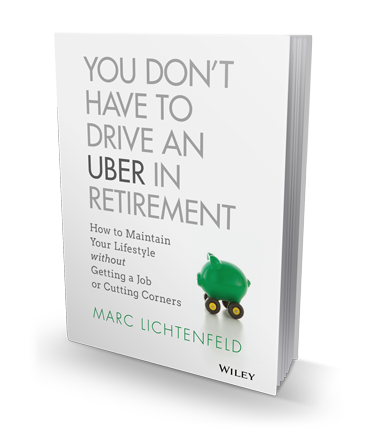Don't Drive an Uber in Retirement - Book Cover